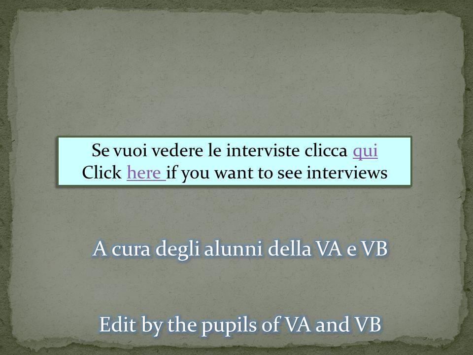 A cura degli alunni della VA e VB
