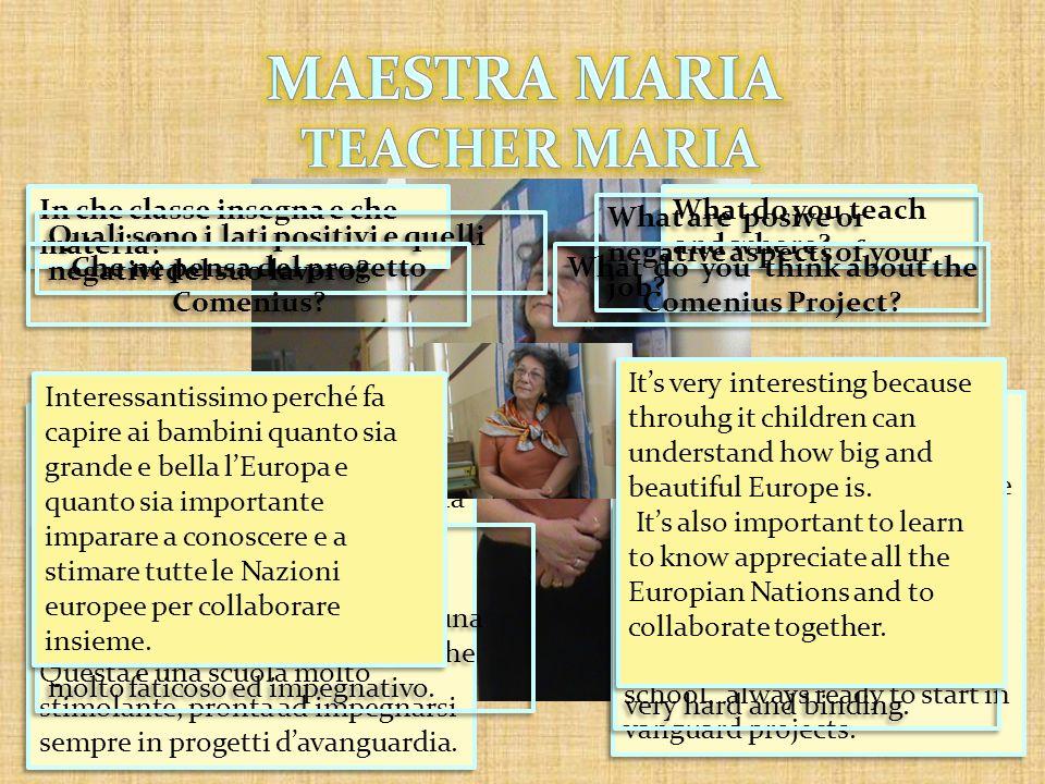 MAESTRA MARIA TEACHER MARIA