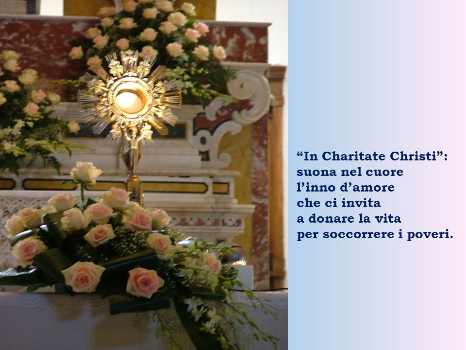 In Charitate Christi :