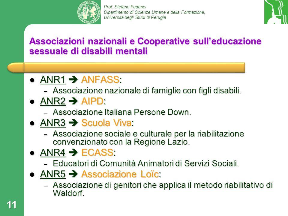 ANR5  Associazione Loïc: