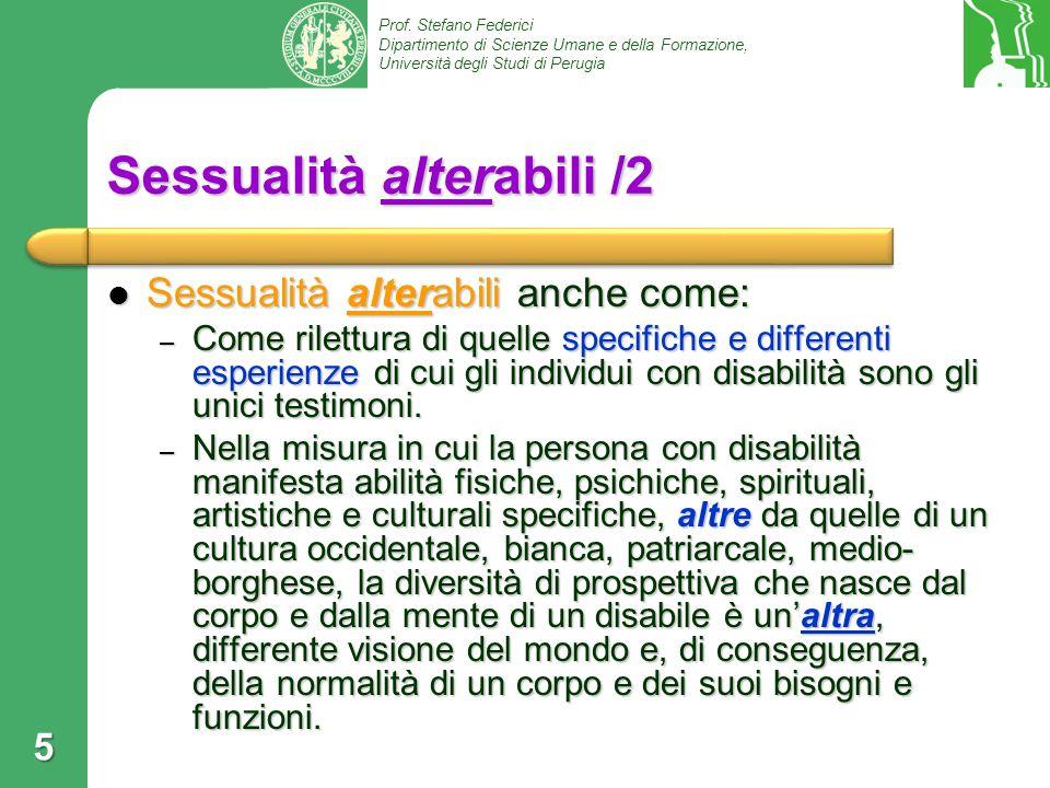 Sessualità alterabili /2