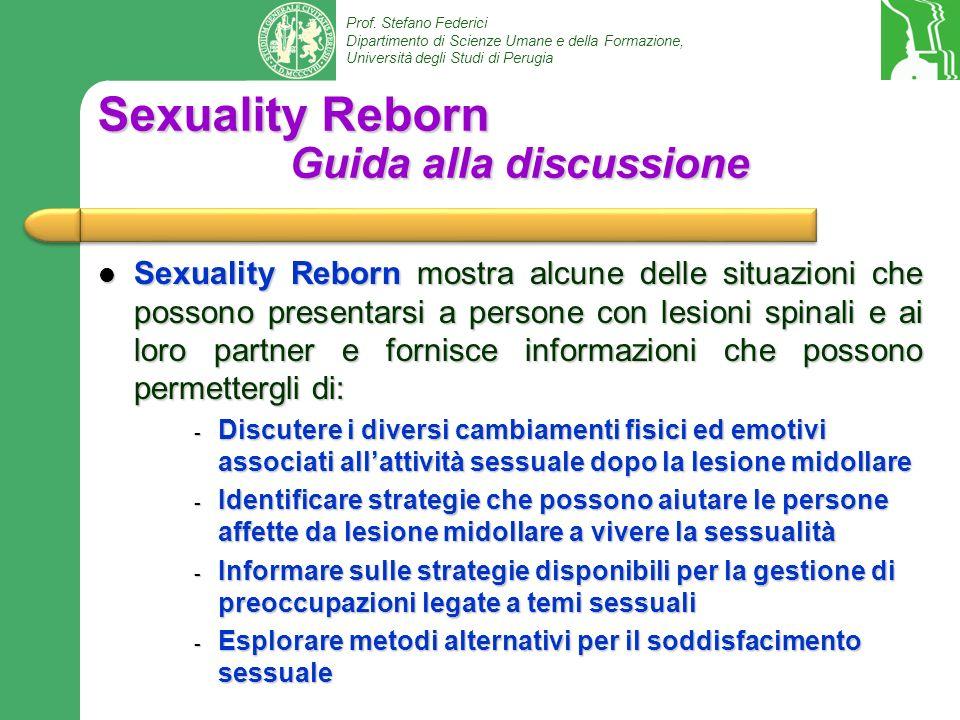 Sexuality Reborn Guida alla discussione