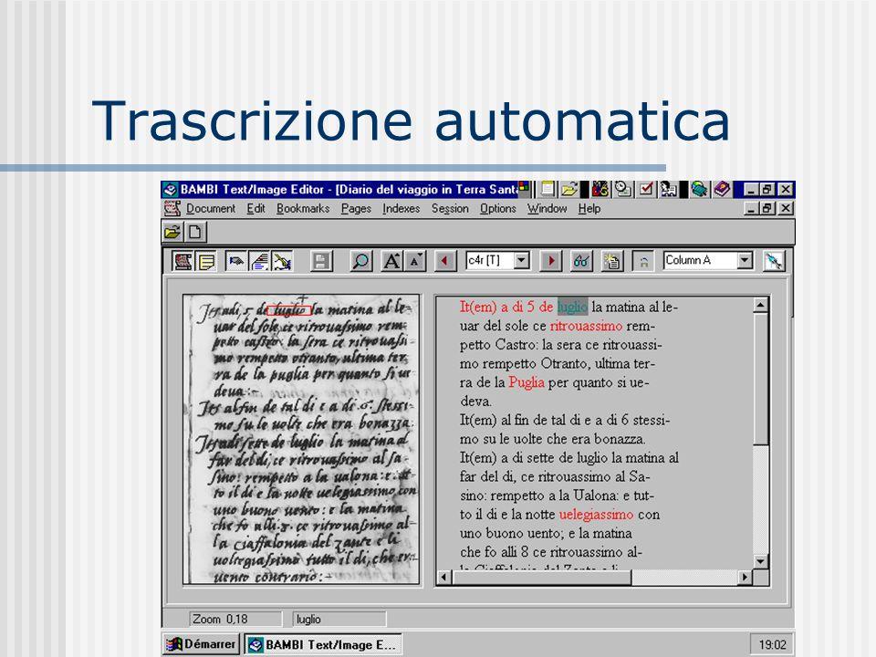 Trascrizione automatica