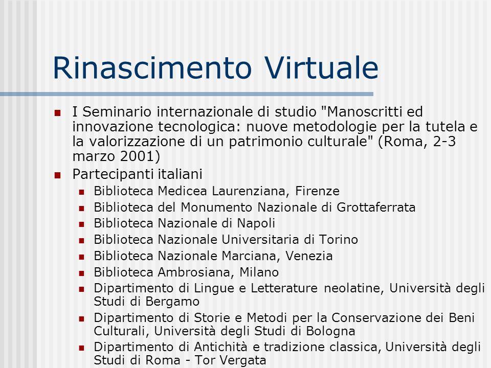 Rinascimento Virtuale
