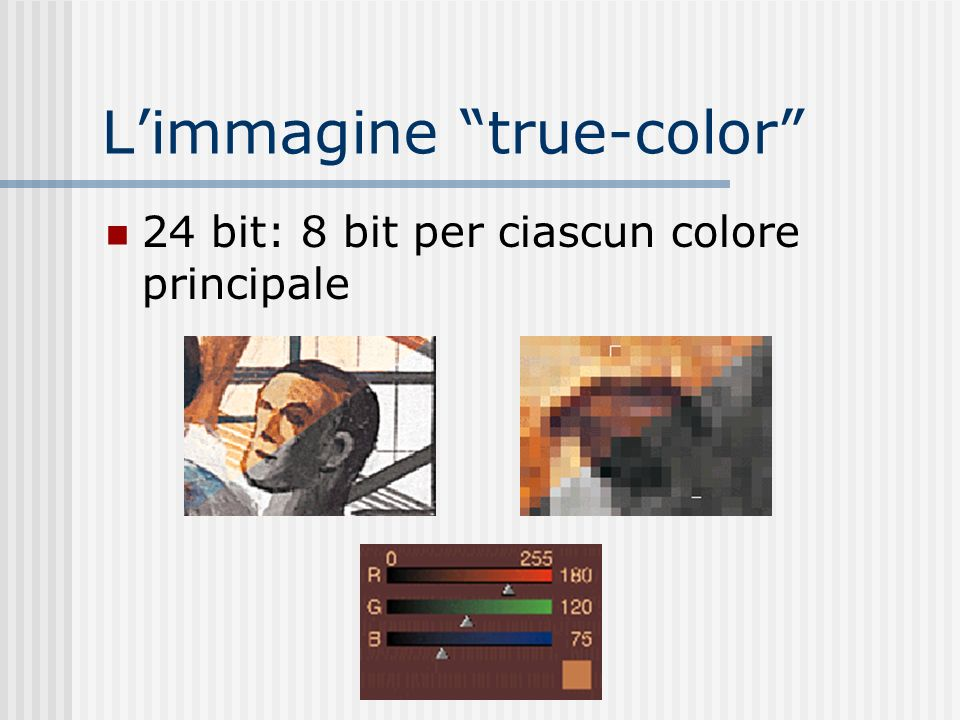 L'immagine true-color