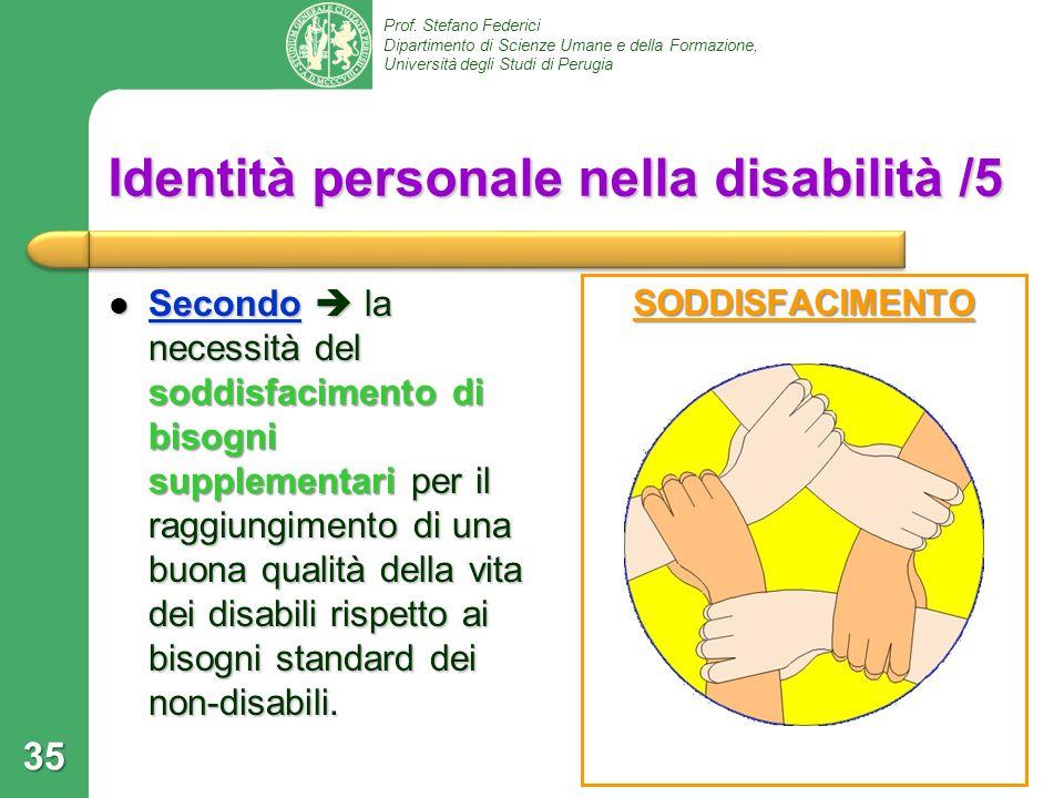 Identità personale nella disabilità /5