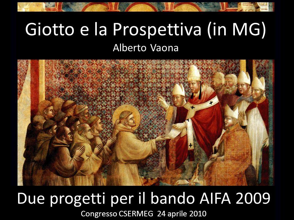 Giotto e la Prospettiva (in MG) Alberto Vaona