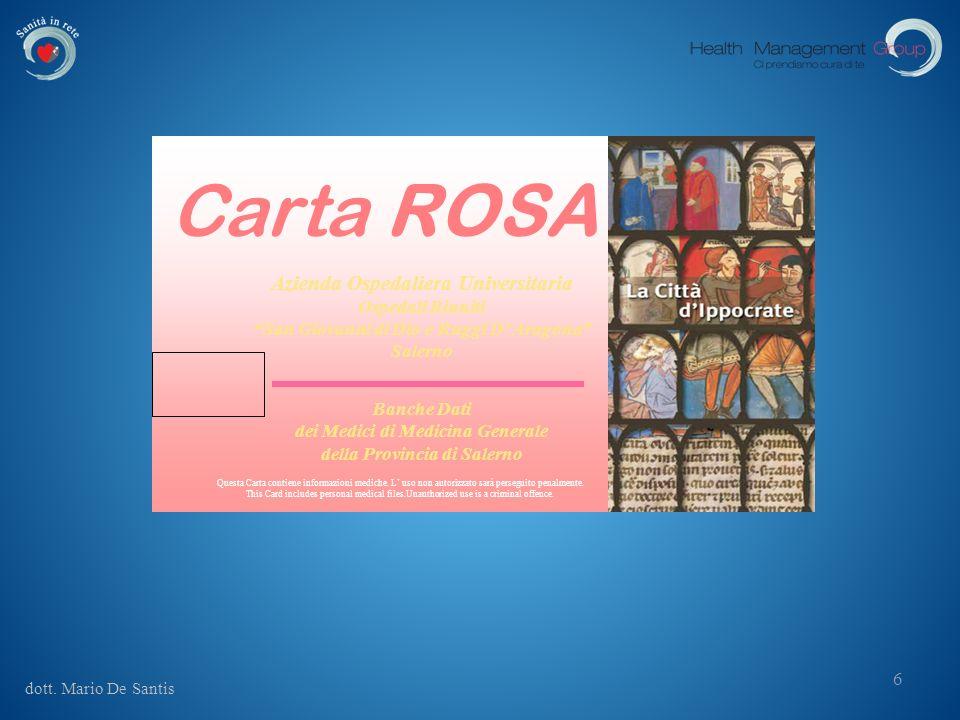 Carta ROSA Azienda Ospedaliera Universitaria Ospedali Riuniti
