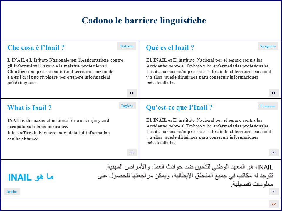 Cadono le barriere linguistiche