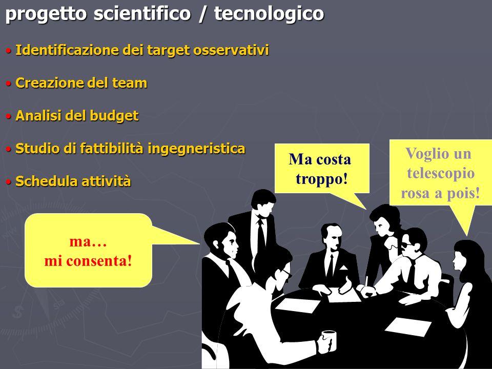 progetto scientifico / tecnologico