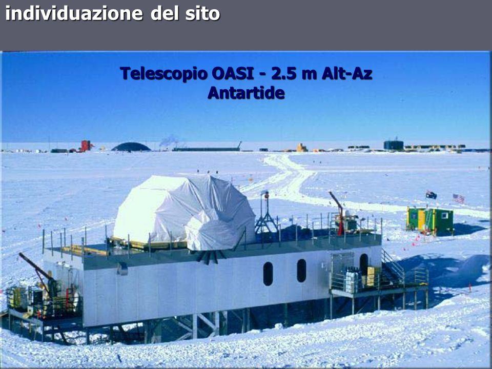 Telescopio OASI - 2.5 m Alt-Az Antartide