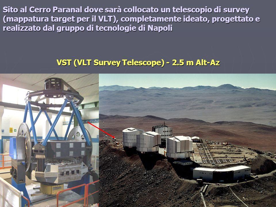 VST (VLT Survey Telescope) - 2.5 m Alt-Az