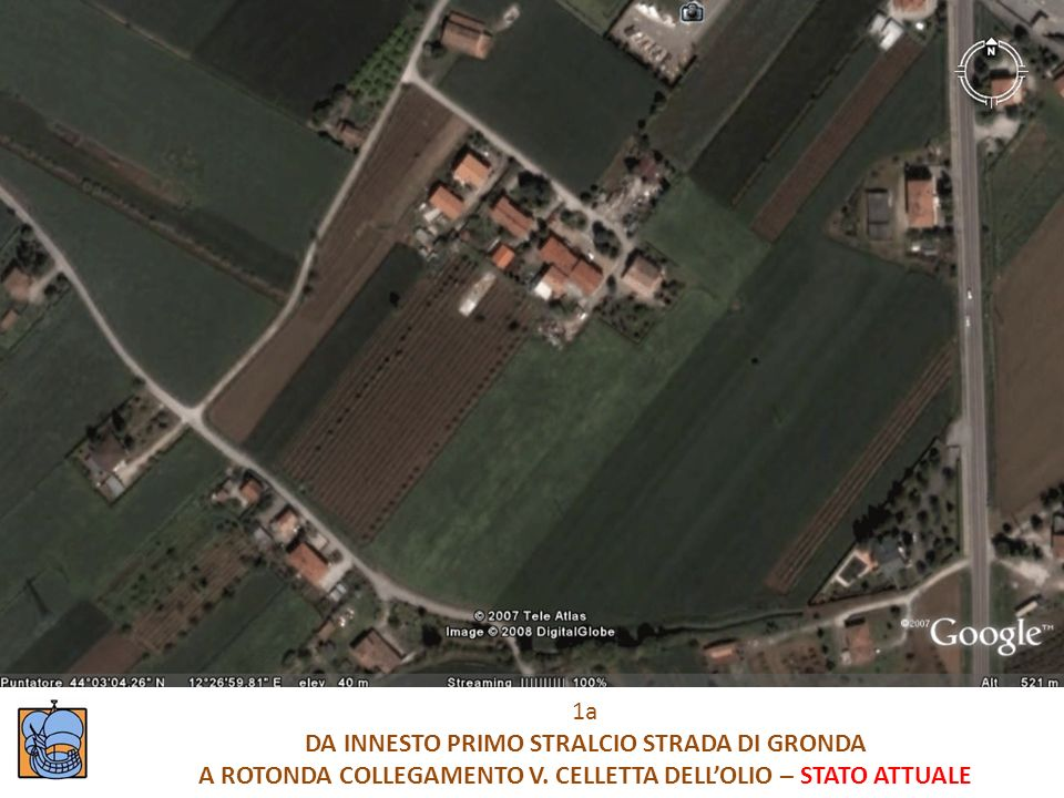 DA INNESTO PRIMO STRALCIO STRADA DI GRONDA