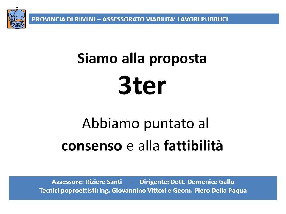 Assessore: Riziero Santi - Dirigente: Dott. Domenico Gallo