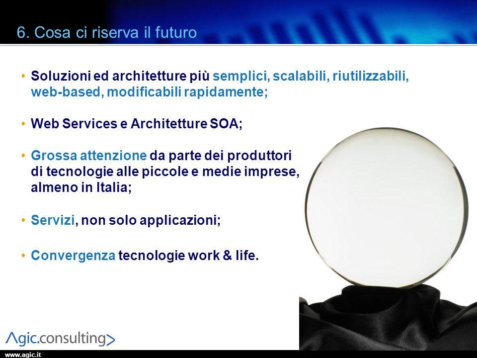 6. Cosa ci riserva il futuro