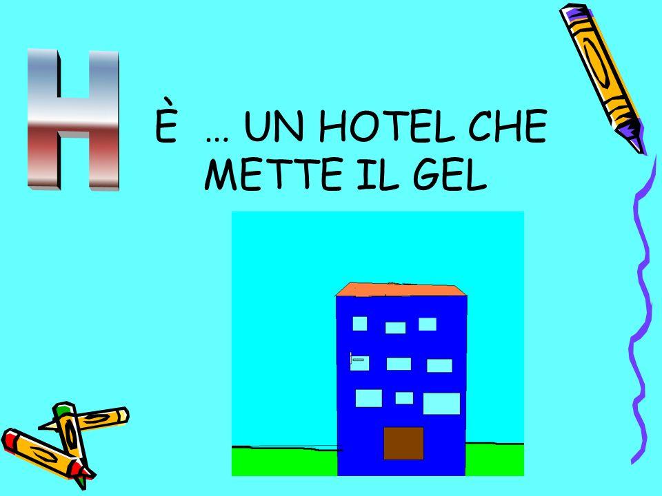 È … UN HOTEL CHE METTE IL GEL