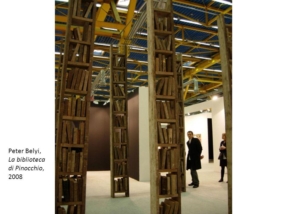 Peter Belyi, La biblioteca di Pinocchio, 2008