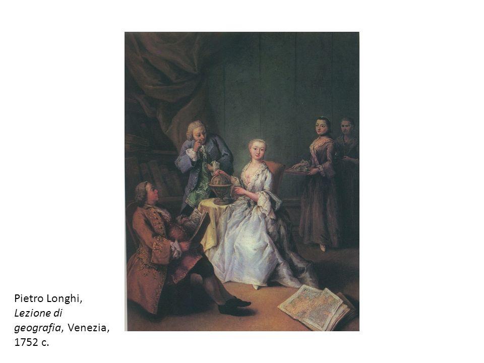Pietro Longhi, Lezione di geografia, Venezia, 1752 c.