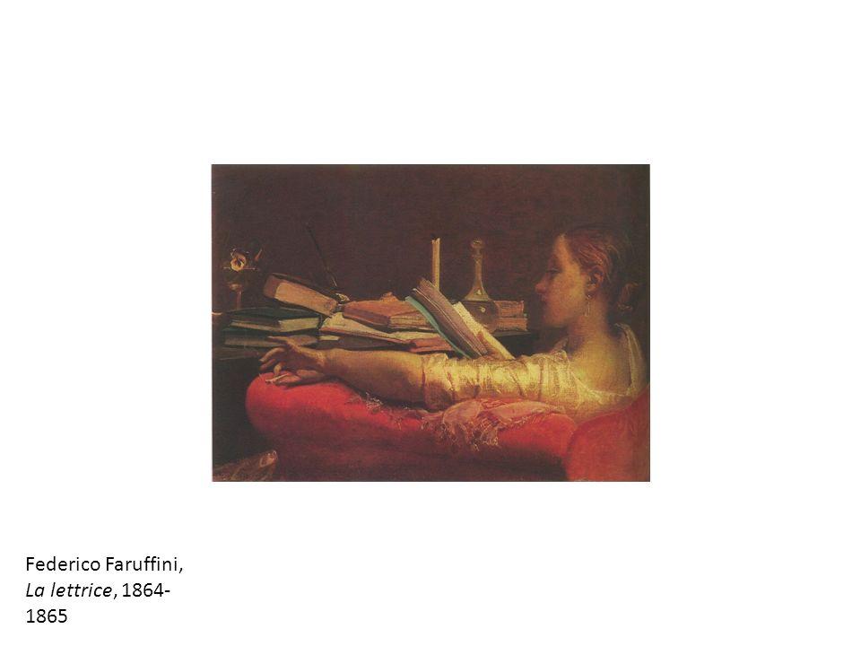 Federico Faruffini, La lettrice, 1864-1865