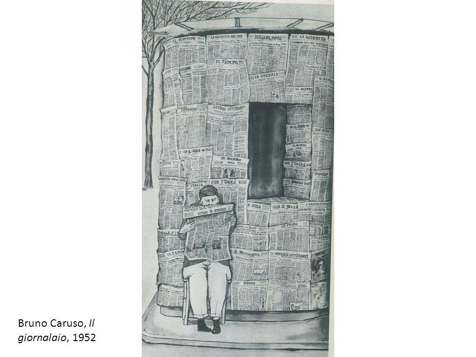 Bruno Caruso, Il giornalaio, 1952