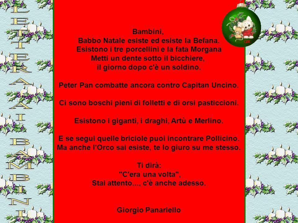 Natale in poesia ppt scaricare - Babbo natale porta i regali ai bambini ...