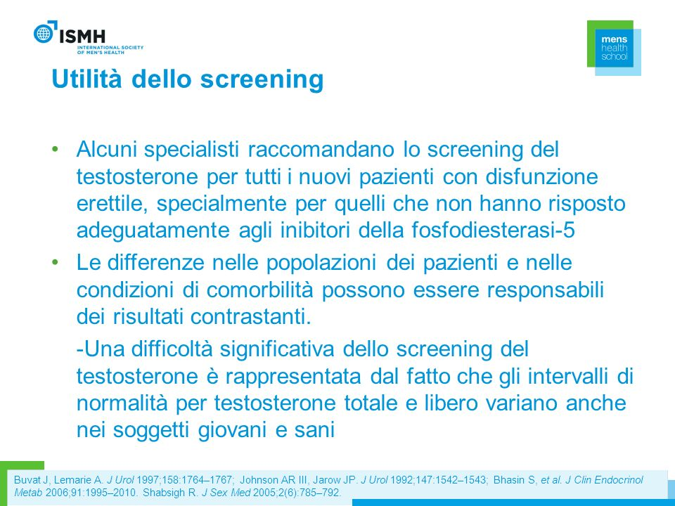Utilità dello screening