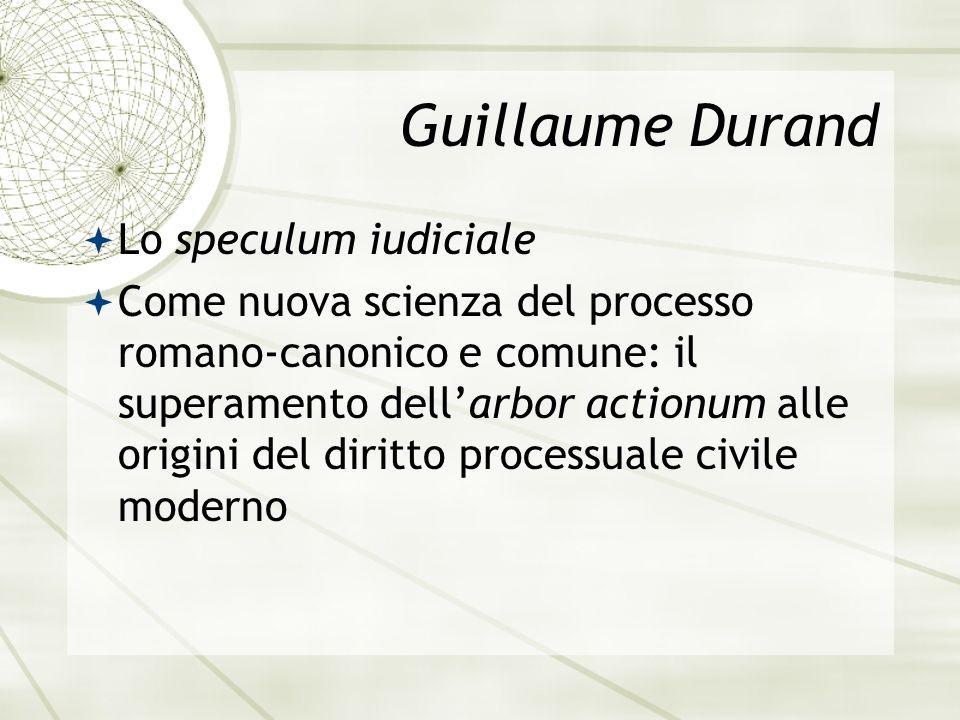 Guillaume Durand Lo speculum iudiciale