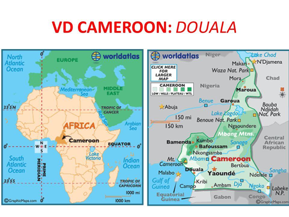 VD Cameroon: Douala