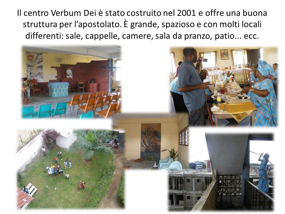 Il centro Verbum Dei è stato costruito nel 2001 e offre una buona struttura per l'apostolato.