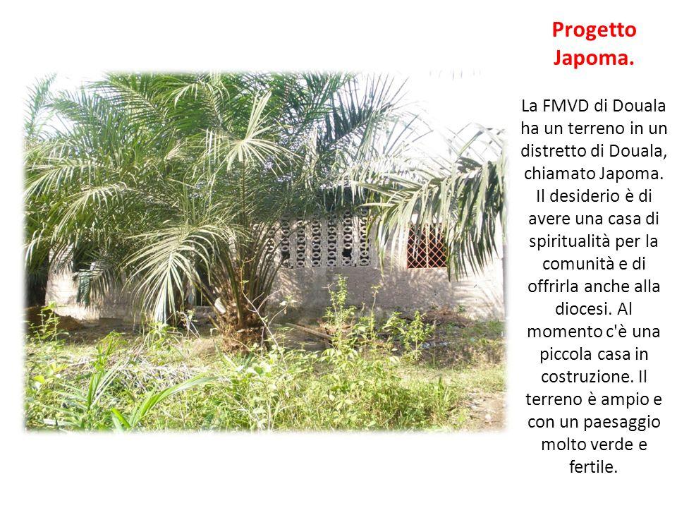 Progetto Japoma. La FMVD di Douala ha un terreno in un distretto di Douala, chiamato Japoma.