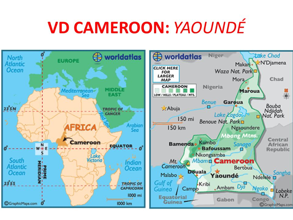 VD Cameroon: YaoundÉ