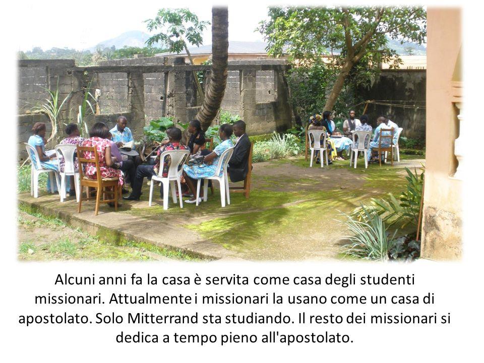 Alcuni anni fa la casa è servita come casa degli studenti missionari