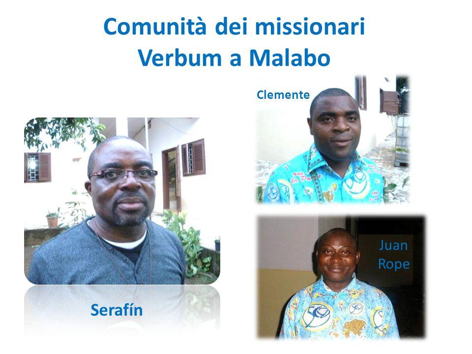 Comunità dei missionari Verbum a Malabo