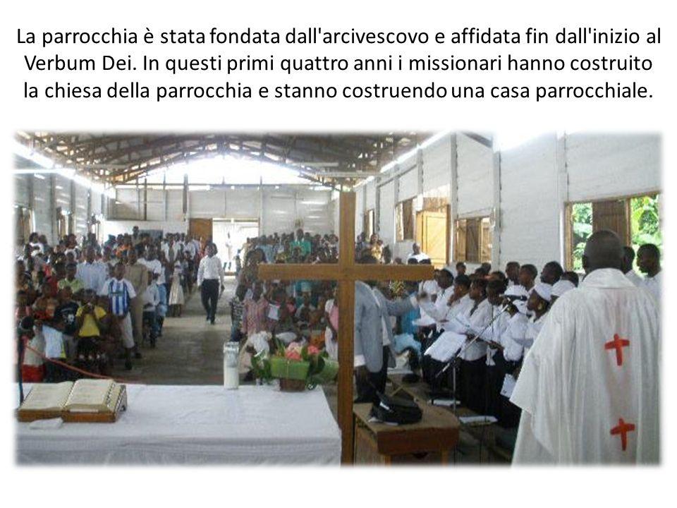La parrocchia è stata fondata dall arcivescovo e affidata fin dall inizio al Verbum Dei.