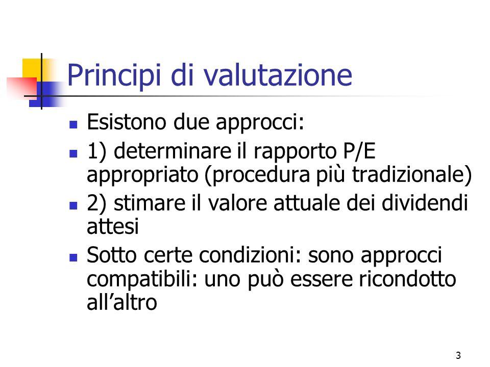 Principi di valutazione