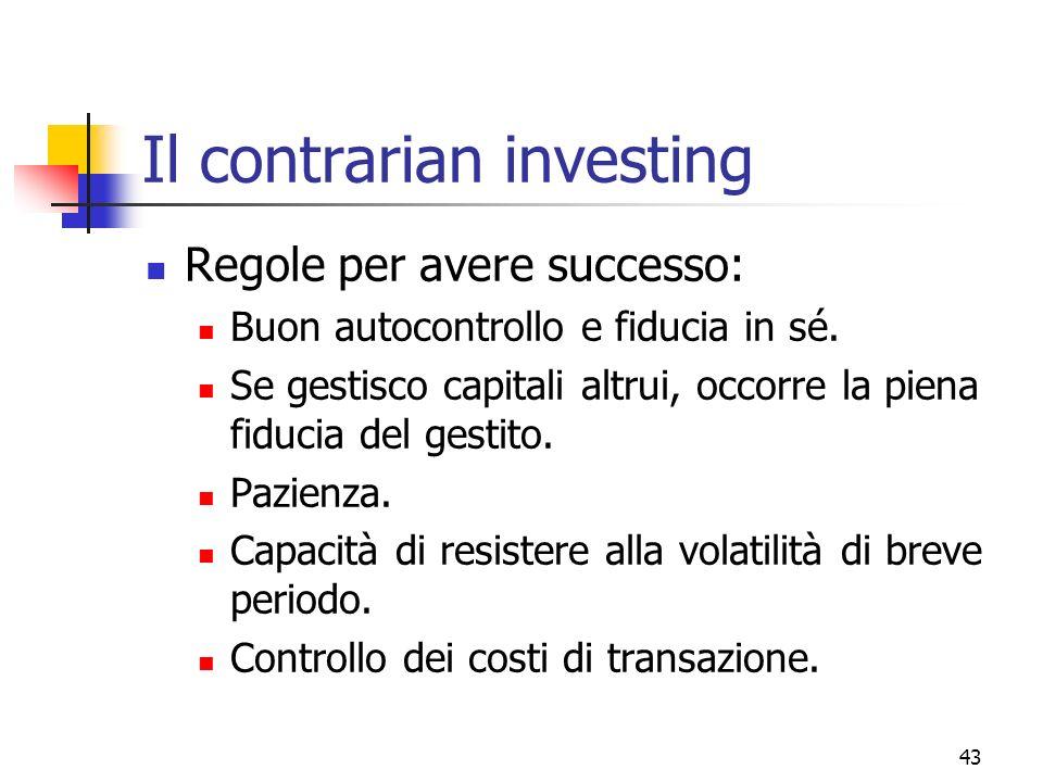 Il contrarian investing