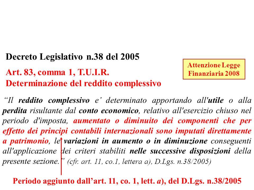 Periodo aggiunto dall'art. 11, co. 1, lett. a), del D.Lgs. n.38/2005