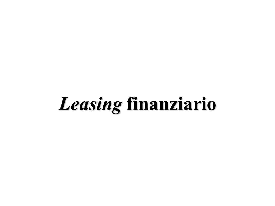 Leasing finanziario