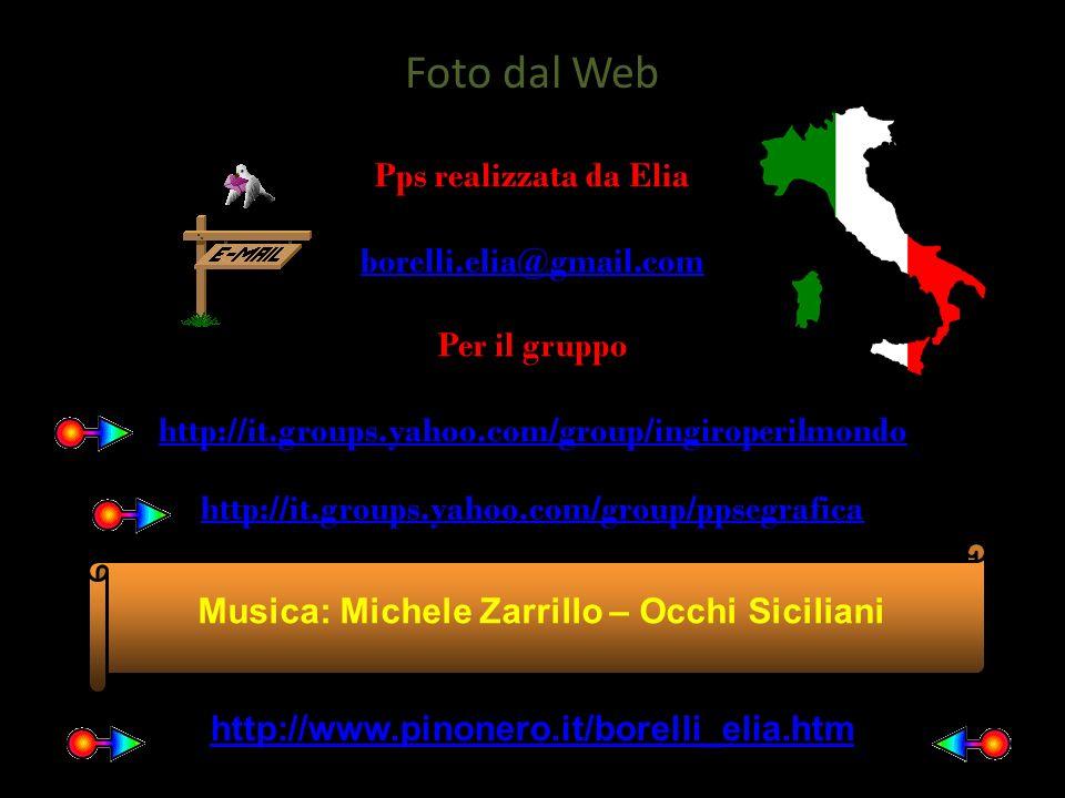 Musica: Michele Zarrillo – Occhi Siciliani