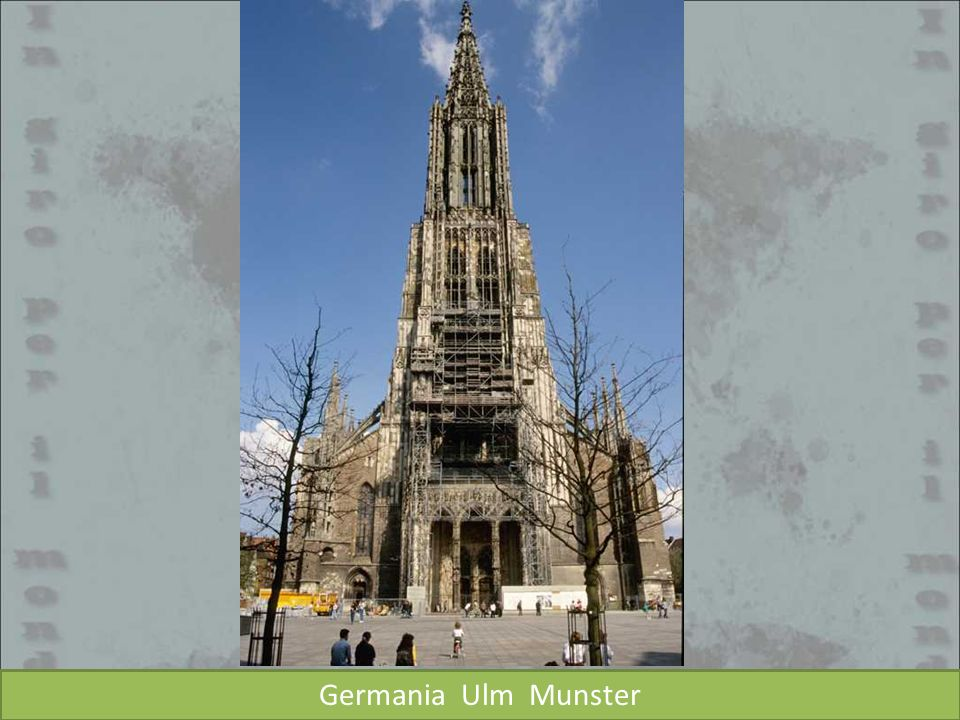 Germania Ulm Munster