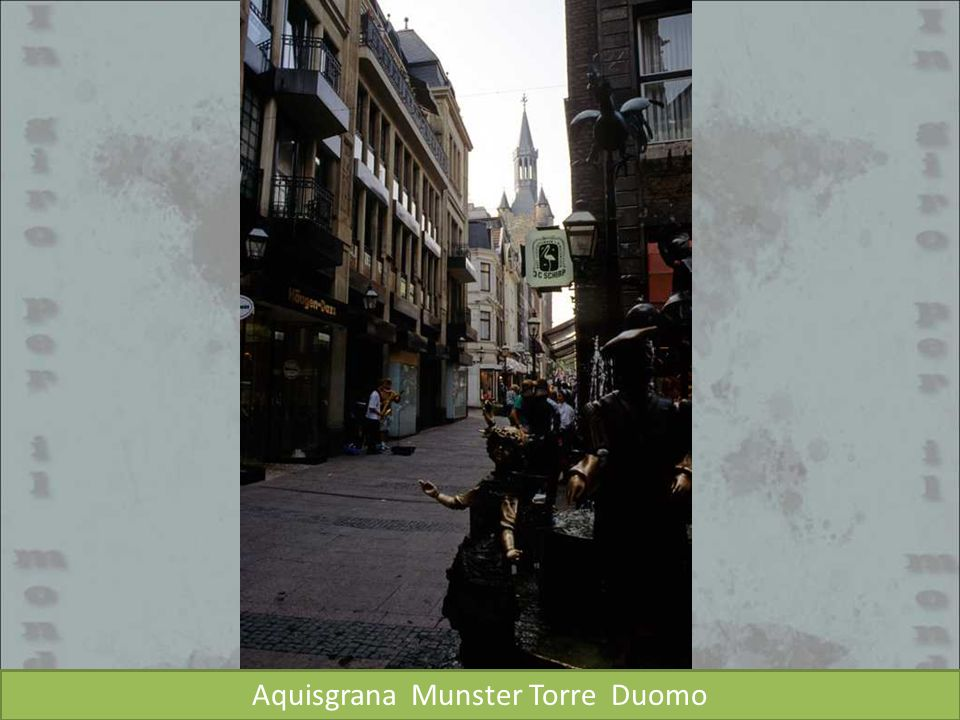 Aquisgrana Munster Torre Duomo