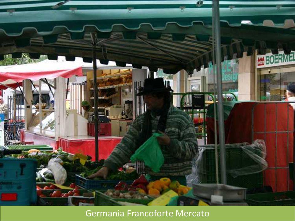 Germania Francoforte Mercato