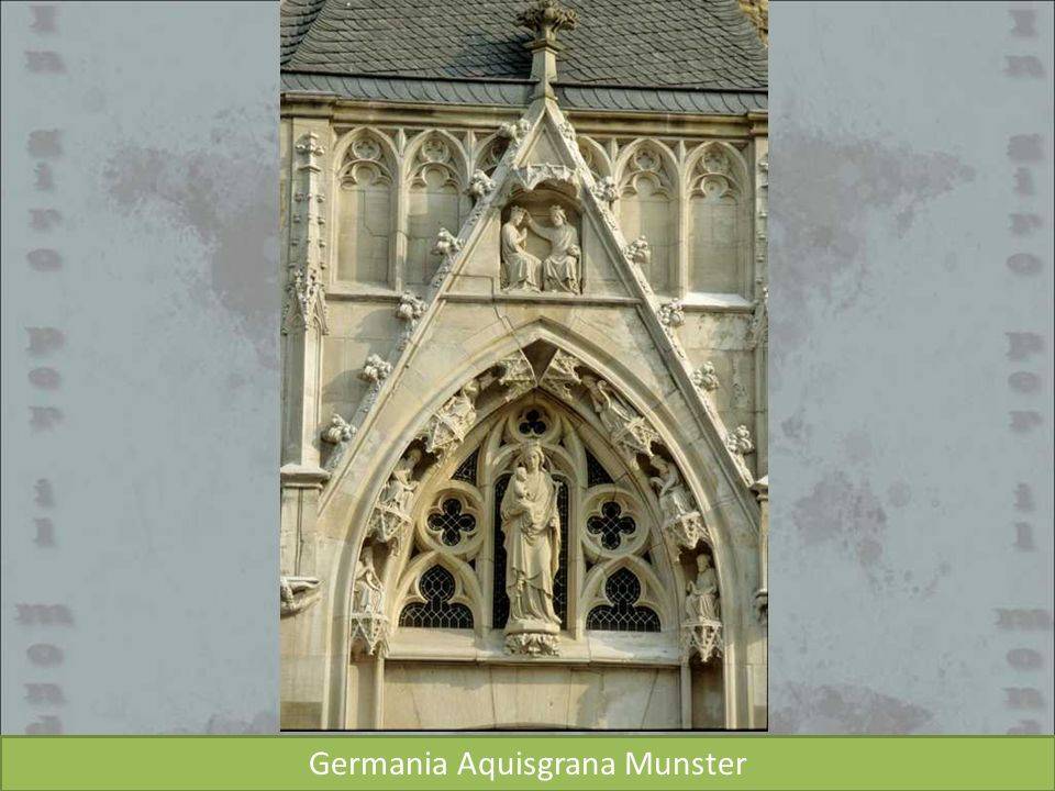 Germania Aquisgrana Munster