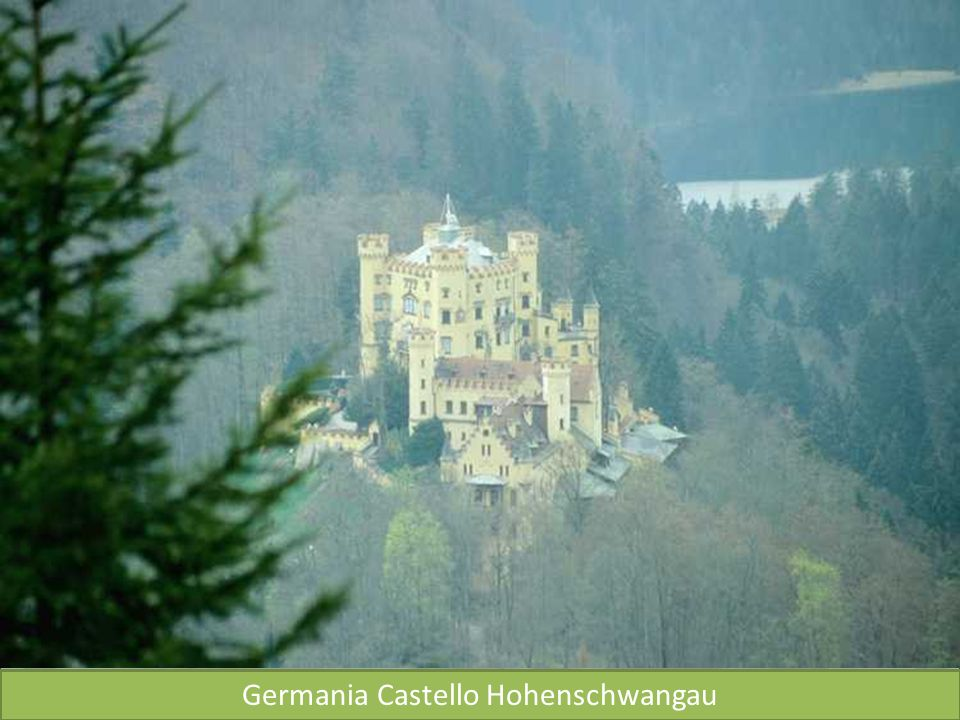 Germania Castello Hohenschwangau