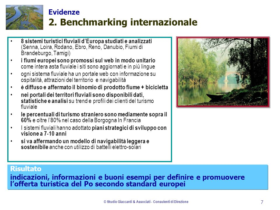 Evidenze 2. Benchmarking internazionale