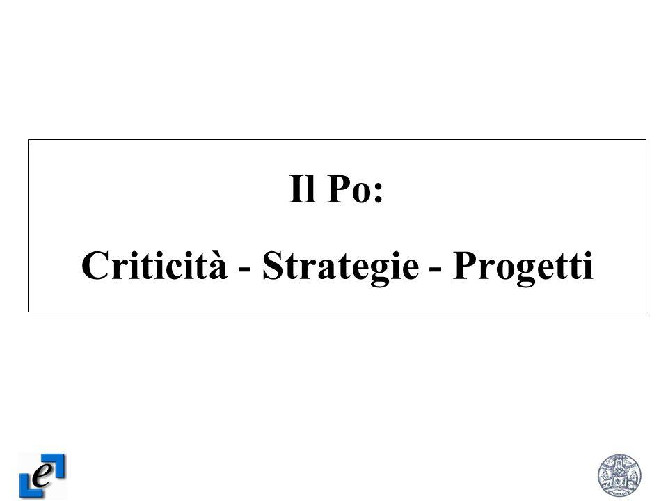 Il Po: Criticità - Strategie - Progetti