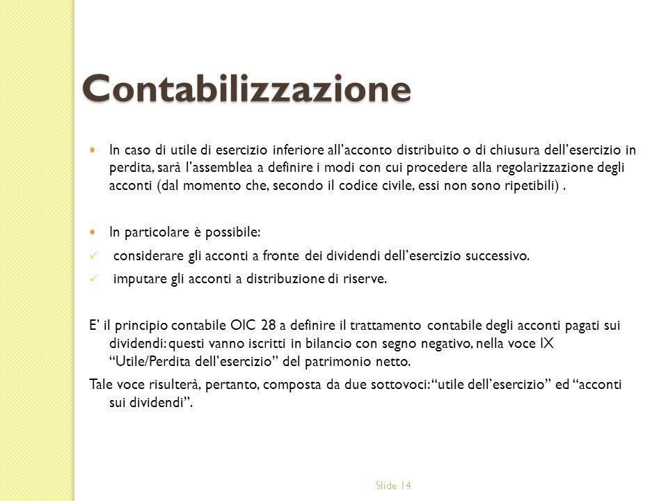 Contabilizzazione