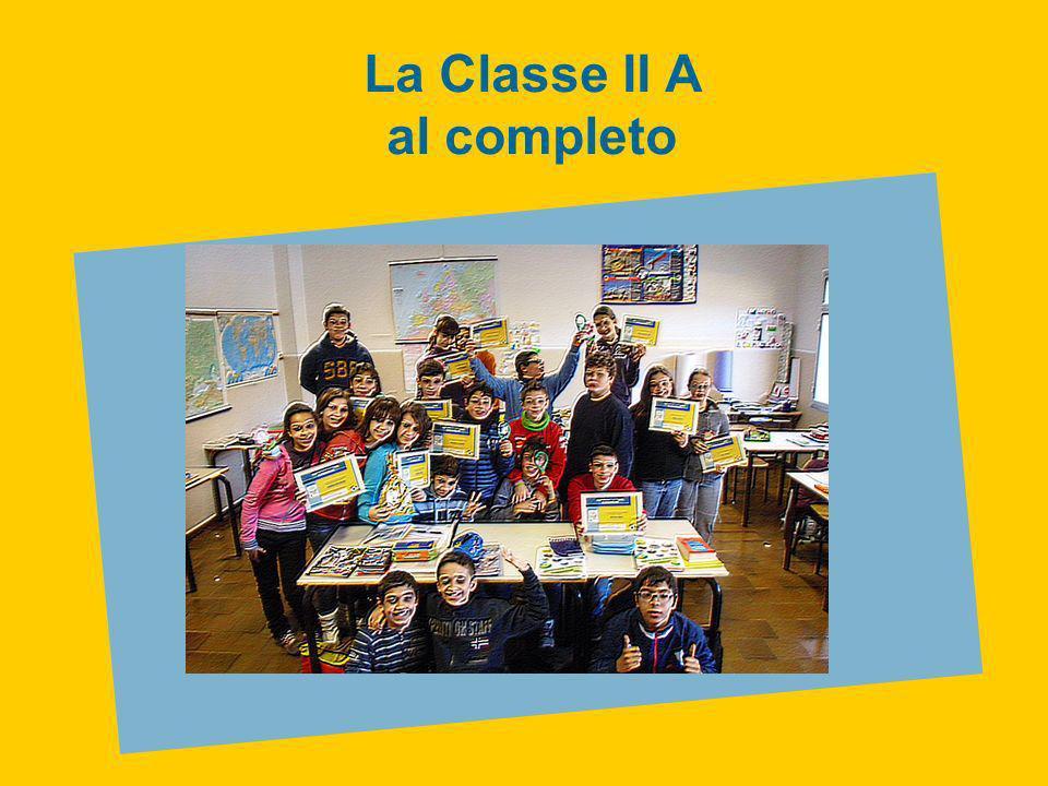 La Classe II A al completo