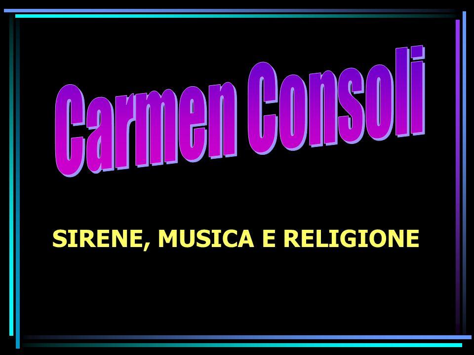 Carmen Consoli SIRENE, MUSICA E RELIGIONE