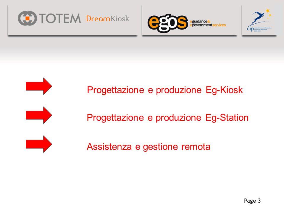 Progettazione e produzione Eg-Kiosk k